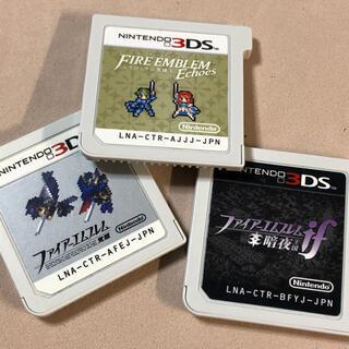 ニンテンドー3DS(ニンテンドー3DS)のファイアーエムブレム 3種セット(携帯用ゲームソフト)