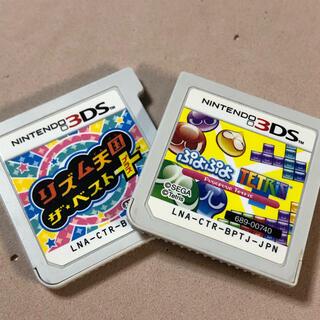 ニンテンドー3DS(ニンテンドー3DS)のリズム天国ザベスト ぷよぷよテトリス(携帯用ゲームソフト)