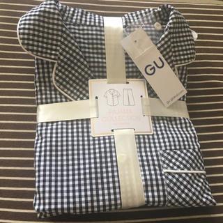 ジーユー(GU)のGU新品★ギンガムチェックパジャマ(パジャマ)
