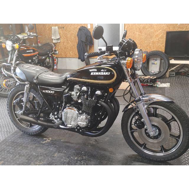 KZ1000LTD フルレストア 車検付きZ1 Z2 FX MK2 自動車/バイクの自動車(車体)の商品写真