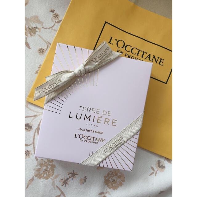 L'OCCITANE(ロクシタン)のロクシタン♡今春限定ハンドクリームとフレグランスヘアミストのセット コスメ/美容のボディケア(ハンドクリーム)の商品写真