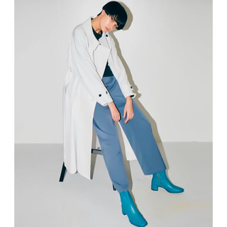 LE CIEL BLEU - LE CIEL BLUE  Asymmetric Trench Coat