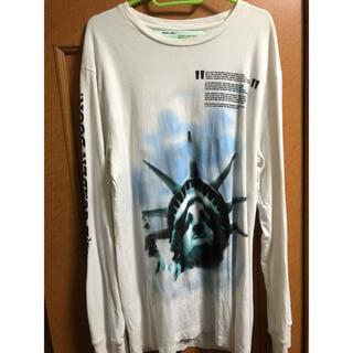 オフホワイト(OFF-WHITE)のoff-white 自由の女神(Tシャツ/カットソー(七分/長袖))