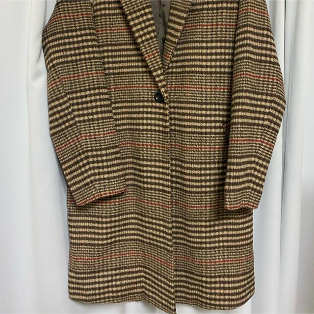 GRL(グレイル)の𓂃 𓈒𓏸◌チェックコート レディースのジャケット/アウター(毛皮/ファーコート)の商品写真