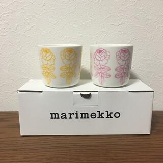 marimekko - 新品未使用 マリメッコ   ヴィヒキルース ラテマグ   セット