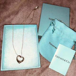 Tiffany & Co. - tiffany&co. Tiffany ティファニー ネックレス オープンハート