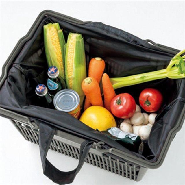 DEAN & DELUCA(ディーンアンドデルーカ)のDEAN & DELUCA☆レジカゴバッグ レディースのバッグ(エコバッグ)の商品写真