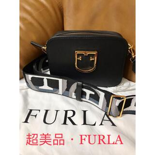 Furla - 美品 フルラ FURLA ショルダーバンク 本革 牛革 ミニレディース