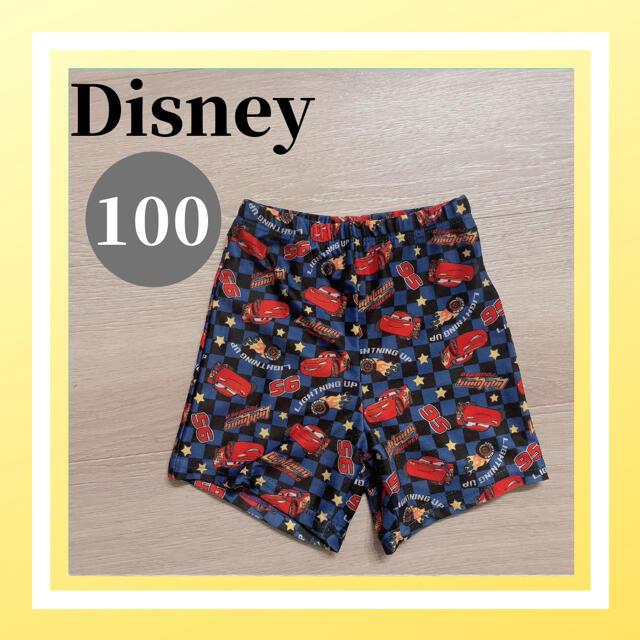 Disney(ディズニー)の美品 ディズニー ピクサー カーズ 水着 スイムウェア 男の子 100 キッズ/ベビー/マタニティのキッズ服男の子用(90cm~)(水着)の商品写真