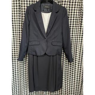 シマムラ(しまむら)のフォーマルスーツ 13号 紺色(スーツ)