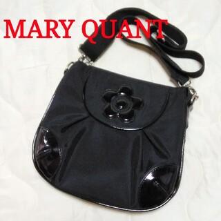 MARY QUANT - マリークワント デイジーショルダーバッグ 黒