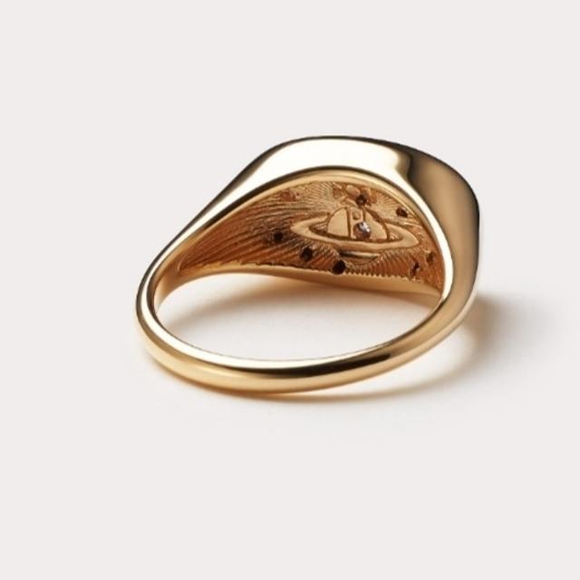 Vivienne Westwood(ヴィヴィアンウエストウッド)の新品・DORINA Ring Gold M レディースのアクセサリー(リング(指輪))の商品写真