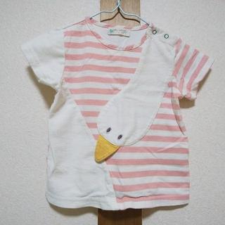NARUMIYA INTERNATIONAL - baby cheer 90サイズ ボーダーガーガTシャツ