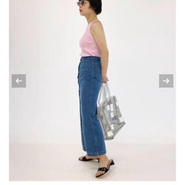 EDIT.FOR LULU(エディットフォールル)のEDIT.FOR LULU フロントボタン デニムスカート   レディースのスカート(ロングスカート)の商品写真