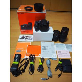 SONY - SONY一眼レフカメラ α100 ズームレンズ2本セット