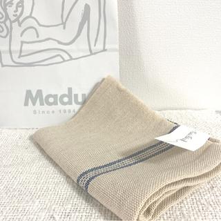 IDEE - #23 madu リネン 新品 両サイドライン クロス  新品 期間限定販売