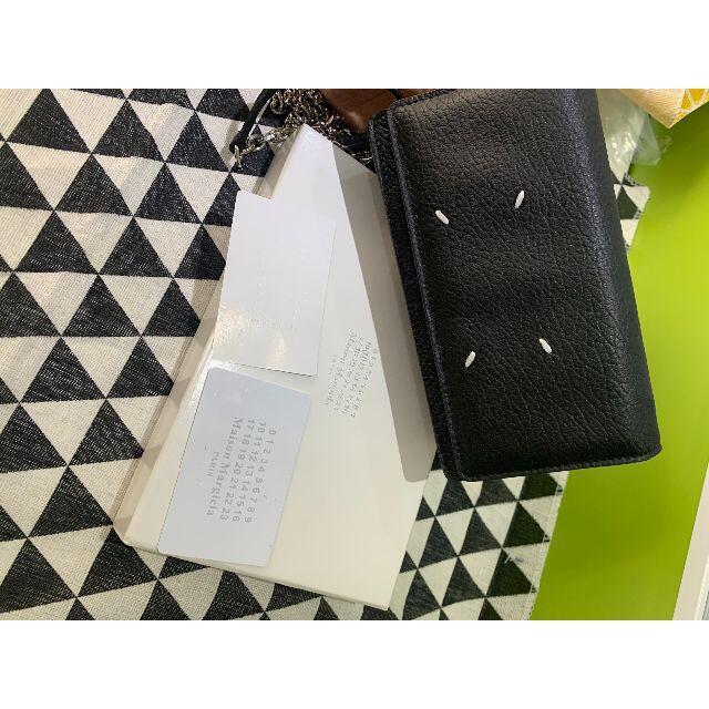 Maison Martin Margiela(マルタンマルジェラ)のMAISON MARGIELA レザー チェーン ウォレット レディースのバッグ(ショルダーバッグ)の商品写真