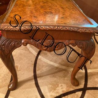 アンティーク 猫足テーブル(ローテーブル)