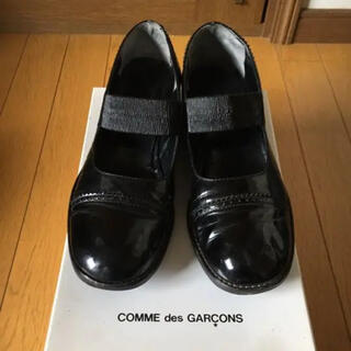 COMME des GARCONS - トリココムデギャルソン★エナメルシューズ