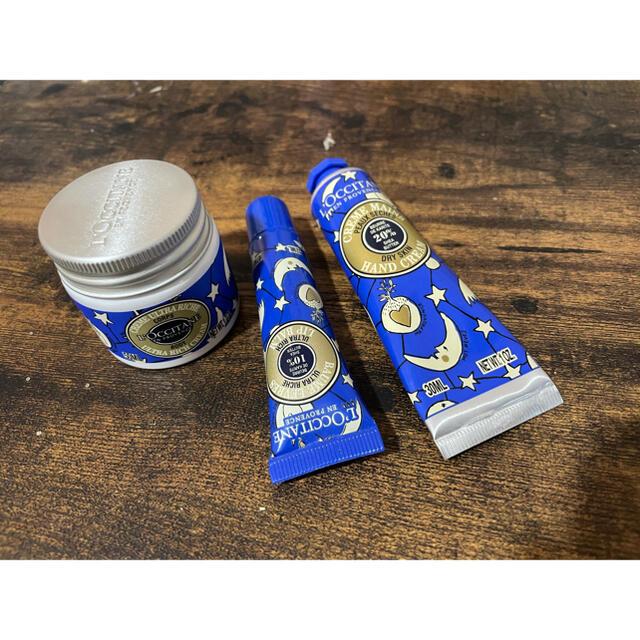 L'OCCITANE(ロクシタン)のロクシタン ハンド、ボディ、リップクリームセット コスメ/美容のボディケア(ハンドクリーム)の商品写真