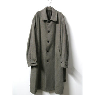 stein  AW19 OVERSLEEVE INVESGATED COAT