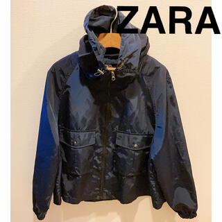 ZARA - 4/23まで掲載 ZARA アウターナイロンフード収納可