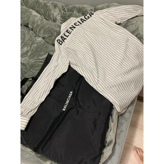 Balenciaga - 確実正規品 balenciaga バレンシアガ バックロゴ シャツ 37