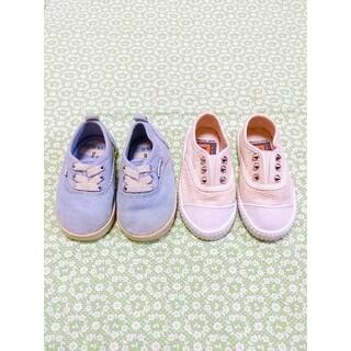 アンパサンド(ampersand)の韓国子供靴 アンパサンド 靴 2点セット 13cm(スニーカー)