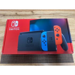 Nintendo Switch - 【中古】Nintendo Switch ネオンブルー/ネオンレッド