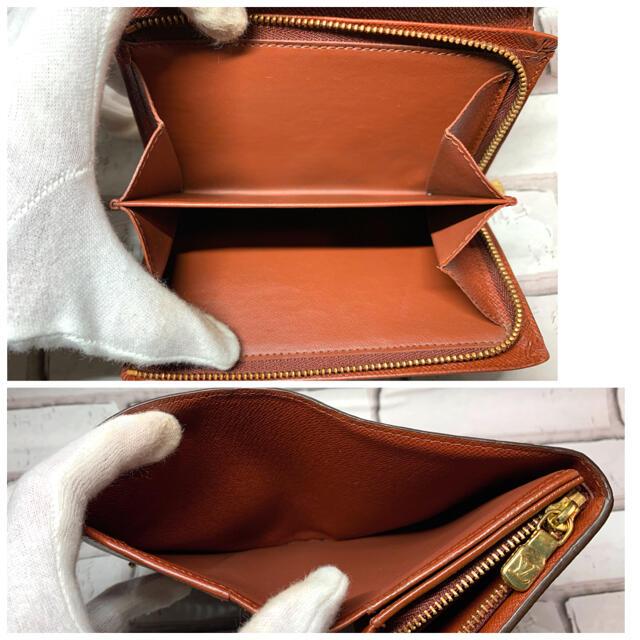 LOUIS VUITTON(ルイヴィトン)の極美品!! ルイヴィトン 2つ折り財布 モノグラム ポルトモネビエトレゾール レディースのファッション小物(財布)の商品写真