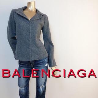 Balenciaga - 極美ライン♪バレンシアガ ペプラムテーラードジャケット♡クロエ アルマーニ