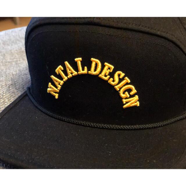 NATAL DESIGN(ネイタルデザイン)のNATAL DESIGN  ネイタルデザイン GOOD BOY CAP ブラック メンズの帽子(キャップ)の商品写真