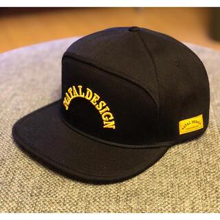 ネイタルデザイン(NATAL DESIGN)のNATAL DESIGN  ネイタルデザイン GOOD BOY CAP ブラック(キャップ)