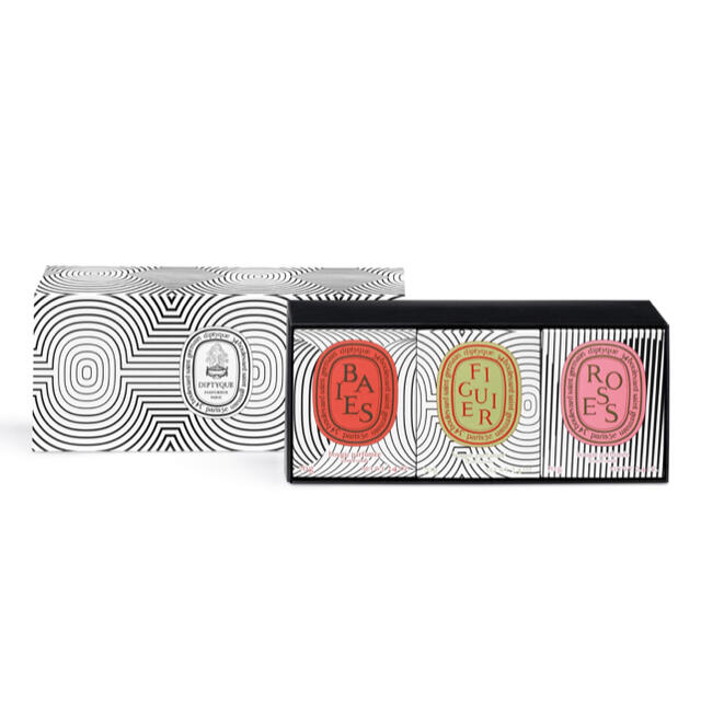 diptyque(ディプティック)の新品 Diptyqueディプティック ミニキャンドル 70G 3種 限定品 コスメ/美容のリラクゼーション(キャンドル)の商品写真