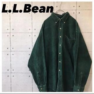 エルエルビーン(L.L.Bean)のL.L.BEANエルエルビーン•コーデュロイシャツ•ボタンダウンシャツ•長袖(シャツ)