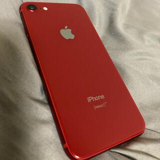 iPhone - iPhone 8 RED 64GB simフリー