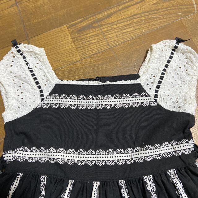 Shirley Temple(シャーリーテンプル)のシャーリーテンプル ワンピース 110 キッズ/ベビー/マタニティのキッズ服女の子用(90cm~)(ワンピース)の商品写真