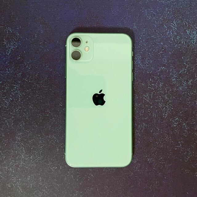 iPhone(アイフォーン)のiPhone11 本体 128GB SIMフリー スマホ/家電/カメラのスマートフォン/携帯電話(スマートフォン本体)の商品写真