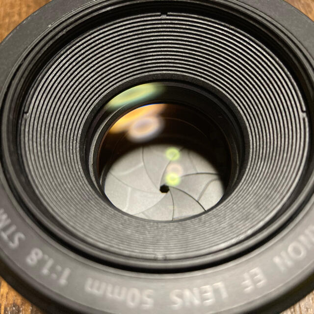 Canon(キヤノン)のももちゃん様専用       Canon  EF50mm F1.8 STM    スマホ/家電/カメラのカメラ(レンズ(単焦点))の商品写真