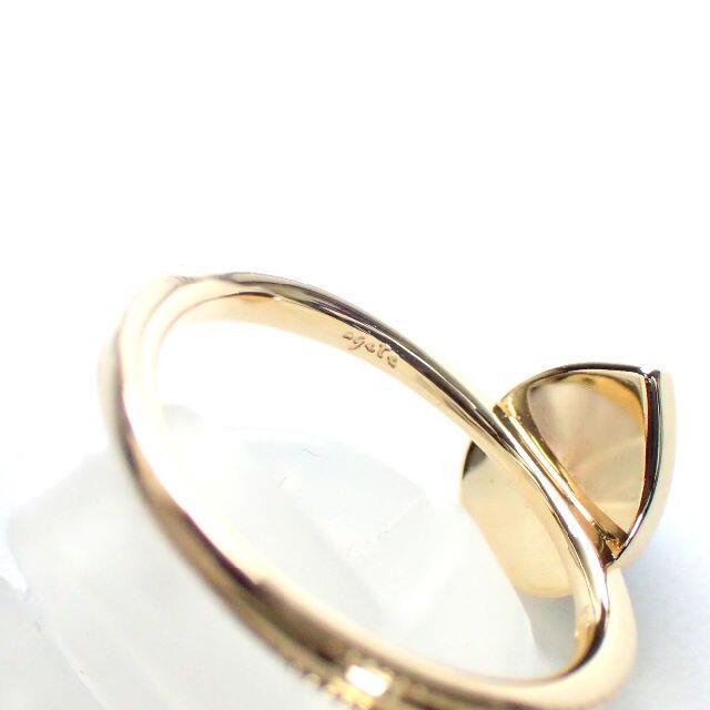 agete(アガット)のアガット agate ターコイズ k10YG ペアシェイプ リング レディースのアクセサリー(リング(指輪))の商品写真