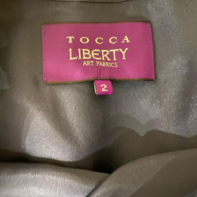 TOCCA(トッカ)のトッカ リバティ ワンピース レディースのワンピース(ひざ丈ワンピース)の商品写真