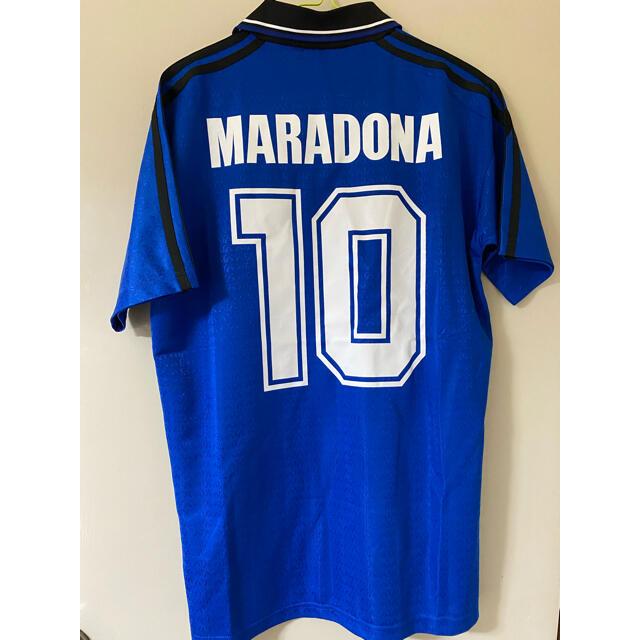 adidas(アディダス)のサッカーアルゼンチン代表 1994年 マラドーナ スポーツ/アウトドアのサッカー/フットサル(ウェア)の商品写真