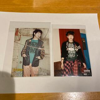 シャイニー(SHINee)のSHINee オニュ 公式写真2枚(K-POP/アジア)