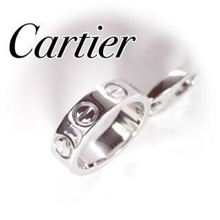 Cartier - カルティエ cartier K18WG ラブチャーム トップ 保証書