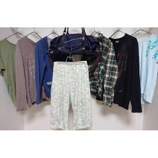 ピーピーエフエム(PPFM)のPPFM コムサコミューン 福袋 まとめ売り メンズ シャツ ロンT Tシャツ(Tシャツ/カットソー(七分/長袖))