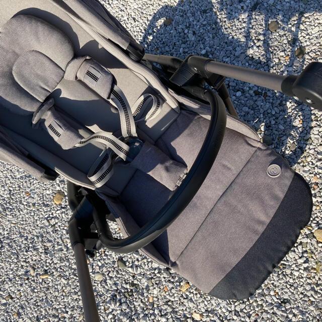 cybex(サイベックス)のcybex MELIO アルミ ソーホーグレー キッズ/ベビー/マタニティの外出/移動用品(ベビーカー/バギー)の商品写真