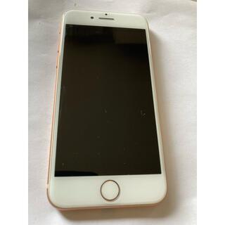 Apple - iPhone8本体 スマホ 64GB 色 ゴールド アルコール消毒したのち発送