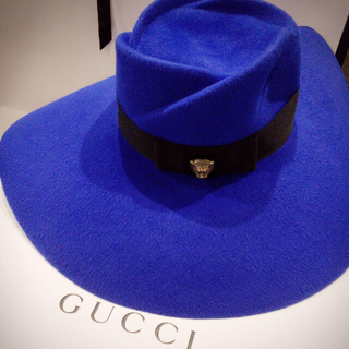 グッチ(Gucci)のGUCCIフェルトハットレア(ハット)