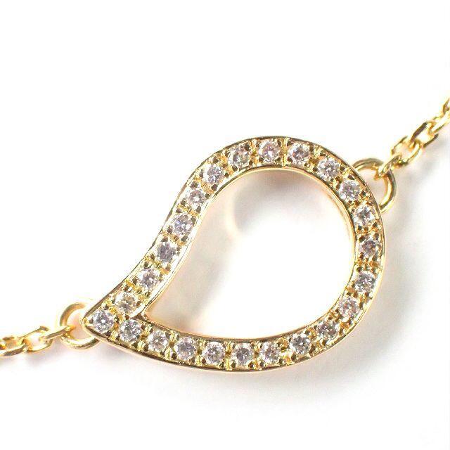ルジアダ RUGIADA K18YG ダイヤ ブレスレット パヴェ レディースのアクセサリー(ブレスレット/バングル)の商品写真