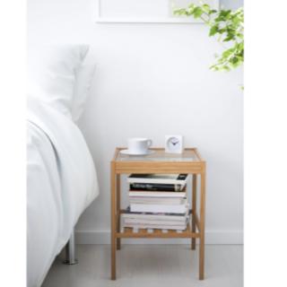 【送料込・段ボール梱包】IKEA NESNA ネスナ サイドテーブル 新品(コーヒーテーブル/サイドテーブル)